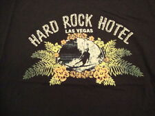 Hard Rock Cafe Hotel Las Vegas Nevada NV Vacation Souvenir Black T Shirt XL