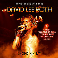 DAVID LEE ROTH of VAN HALEN New Sealed 2017 UNRELEASED LIVE 1986 CONCERT CD