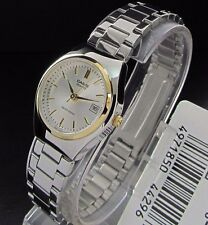 LTP-1170G-7A Silver Gold Casio Stainless Steel Watches Ladies Date Brand-New