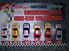 Kelloggs Corn Flakes Racing Commemorative Mini Car Collection and Cereal Boxes