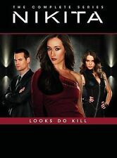 Nikita ~ Complete Series Season 1-4 (1 2 3 & 4) ~ BRAND NEW 16-DISC DVD SET