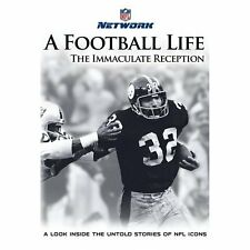 A FOOTBALL LIFE - The Immaculate Reception (NFL) DVD [V29]