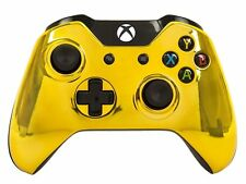"""Gold"" Xbox One Custom UN-MODDED Controller Exclusive Design"