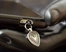 Sweet Heart cell phone Charm Anti Dust Plug Ear Jack For iPhone smartphone