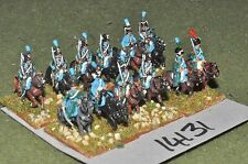 15mm napoleonic french hussars 12 cavalry (14131)