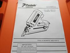 PASLODE IM350 TOOL PARTS DIAGRAM CHECK MY EBAY SHOP
