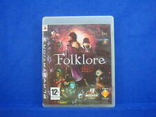 Ps3 FOLKLORE Game Rpg Adventure Playstation 3 PAL