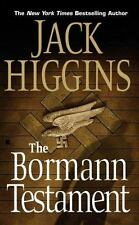 "PB- Jack Higgins: "" The Bormann Testament"""