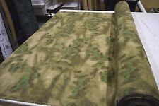 "A-TACS FG POLY COTTON TWILL CAMOUFLAGE FABRIC MILITARY SPECS 60""W CAMO BTY"