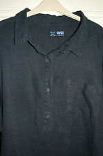 SEASALT LINEN TUNIC DRESS - SIZE 18 - LOVELY CONDITION!