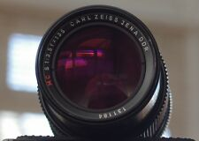 Carl Zeiss Jena 135mm F3.5 MC S (SONNAR?) M42 with adapter for Pentax K