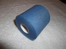 "BLUE HOCKEY PRE-WRAP   6 rolls   2/34""x20yds.  * FIRST QUALITY *"