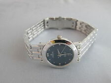 Ladies' Croton Equator Swiss Quartz Watch 18 GOLD Crown Bezel and Links