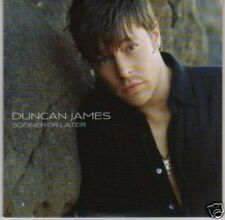 (L445) Duncan James, Sooner or Later - DJ CD