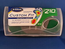 CF210 Dr scholl's Custom Fit Orthotic inserts scholls  insoles CF 210