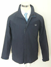 Men's Blue Elegant FRED PERRY Jacket Size S Small