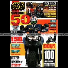 MOTO REVUE HS 1 HORS-SERIE ★ GUIDE SPECIAL 50 cc 1998 ★ APRILIA SR 50 YAMAHA TZR