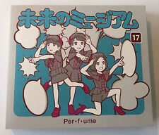 Mirai no Museum by Perfume Japan Import  4tracks SingleCD+DVD limited edition