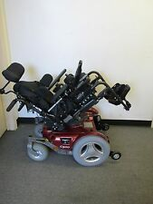 PERMOBIL C300 PEDIATRIC WHEELCHAIR WITH POWER TILT. NEW BATTERIES.