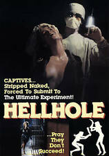 Hell Hole (DVD, 2015)-judy landers-ray sharkey-mad doctor-experiments-horror