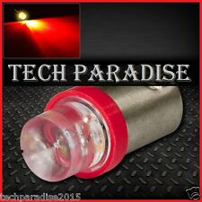 1x Ampoule BA9S / T4W / T2.3W LED Bulb Rouge Red veilleuse lampe light 12V