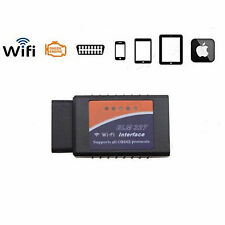 Mini ELM327 Wi-Fi OBD2 OBDII WiFi For iPhone Car Diagnostic Interface Scanner