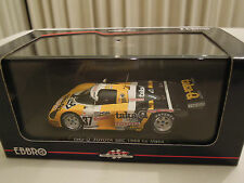 Ebbro Toyota Tom's 88C 1988 Le Mans Racing Team taka-Q, 1/43 Scale New in Box