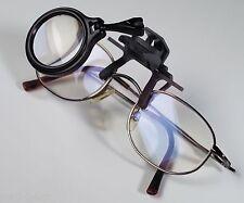 Klemmlupe für das Brillengestell,  5-fache Vergrößerung für das Kleingedruckte
