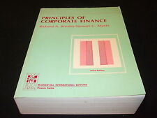 Richard Brealey / Stewart C. Myers - Principles of Corporate Finance  englisch