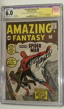 AMAZING FANTASY 15 CGC SS STAN LEE SIGNED