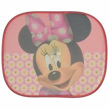 Disney Pixar Side Car Sun shade X2 Minnie Mouse UV Protection for Children