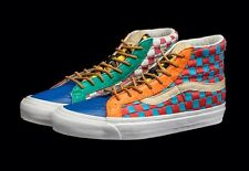 Vans Vault Og Sk8-Hi Lx 50Th Checkered Past Collection Size 9 Rare!!!!!