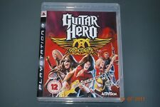 Guitar Hero Aerosmith PS3 Playstation 3 **FREE UK POSTAGE**