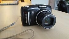 Canon PowerShot SX120 IS 10.0 MP Digital Camera - Black, Used, Works Great!