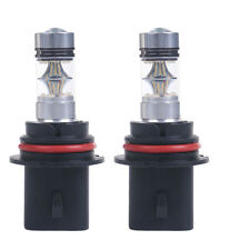 2x 9007 6000K 100W LED 20-SMD Projector Fog Driving DRL Light Bulbs HID White US