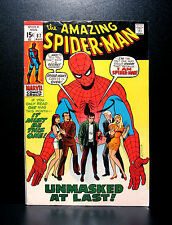 COMICS: Marvel: Amazing Spiderman #87 (1970) - RARE (thor/ironman/avengers)