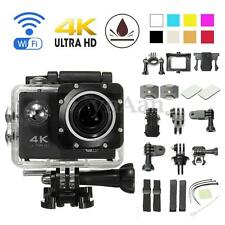 "F60R 4K Ultra HD 1080P 2"" WiFi Waterproof Sport Action Camera DV DVR Camcorder"