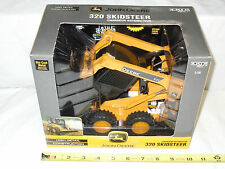 John Deere 320 Skid Loader   By Ertl   1/16th Scale