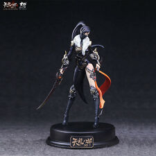 Female swordsman resin garage kit takeya takayuki manogk