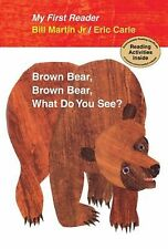 Brown Bear, Brown Bear, What Do You See? (My First Reader)...NEW Hardcover