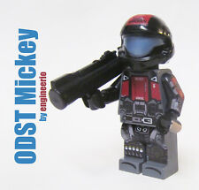 LEGO Custom - Halo ODST Mickey - Minifigure army video game space marine