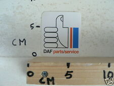STICKER,DECAL DAF PARTS SERVICE B