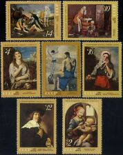 Russia 1971 Picasso/da Vinci/Titian/Art/Artists/Paintings/Painters 7v set n44639