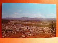 Postcard Canada Yukon Whitehorse Airview of City 1950's