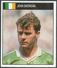 ORBIS 1990 WORLD CUP COLLECTION-#186-EIRE-JOHN SHERIDAN