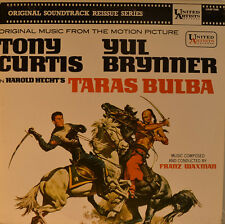 "OST - SOUNDTRACK - TARAS BULBA - FRANZ WAXMAN  12"" LP (L880)"