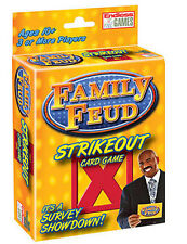 Family Feud Strike Out Card Game - New - Toys & Games (47816)