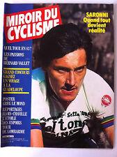 Miroir du Cylisme n°326 du 10/1982; Saronni/ Passion de Bernard Vallet/ Lombardi