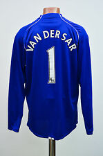 MANCHESTER UNITED 2007/2008 GOALKEEPER FOOTBALL SHIRT JERSEY NIKE VAN DER SAR #1