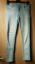 WOMENS DENIM RULES BY TRP LIGHT BLUE SUPER SKINNY SLIM JEANS SIZE 10, EUR 38!